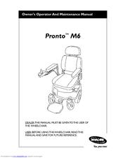 invacare pronto m6 manuals rh manualslib com
