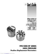 Omega FPD1000-HP Series User Manual