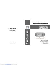 IRiver IFP-800 User Manual