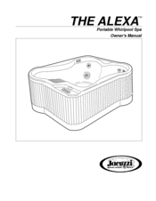 JACUZZI ALEXA OWNER'S MANUAL Pdf Download. on
