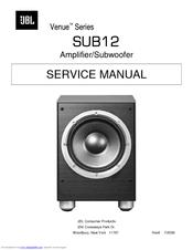 """jbl venue sub12 service manual pdf download rh manualslib com JBL 12"""" Woofers JBL Subwoofer 12"""