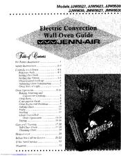Jenn Air Jjw9530 Guide Manuals