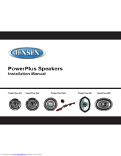 jensen powerplus693 car speaker 80 watt manuals rh manualslib com