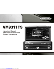 jensen vm9311ts dvd player with lcd monitor manuals. Black Bedroom Furniture Sets. Home Design Ideas