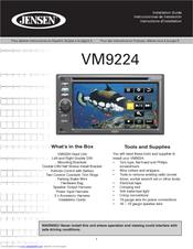 jensen vm9224 manuals jensen vm9424 wiring diagram at Jensen Vm9424 Wiring Diagram