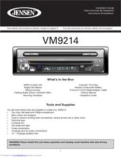 Jensen VM9214 Manuals | ManualsLibManualsLib