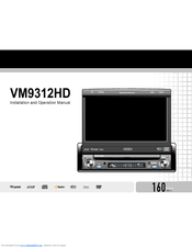 jensen vm9312hd dvd player with lcd monitor manuals. Black Bedroom Furniture Sets. Home Design Ideas