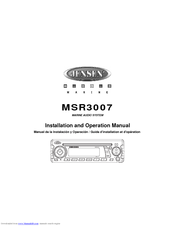 jensen msr3007 manuals rh manualslib com Jensen MSR3007 Manual Jensen MSR3007 Remote