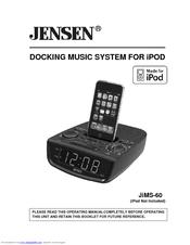 jensen jims 60 owner s manual pdf download rh manualslib com