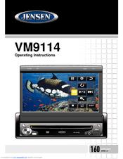 Jensen VM9114 Manuals on