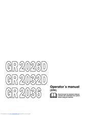 jonsered gr 2036 manuals rh manualslib com