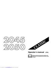 jonsered classic 2050 manuals rh manualslib com jonsered 2054 turbo service manual jonsered 2050 turbo service manual