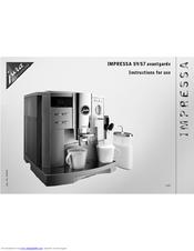 Coffeegeek jura capresso s9 operation and controls.
