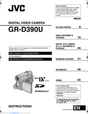 JVC 0206ASR-NF-VM Instructions Manual
