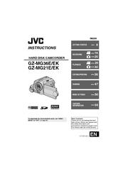 jvc gz mg21ek manuals rh manualslib com User Manual JVC Everio GZ- EX250 JVC Everio Camcorder User Manual