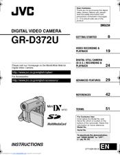 jvc gr d372u instructions manual pdf download rh manualslib com JVC Everio JVC Everio Gz