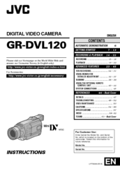 jvc gr dvl120 instructions manual pdf download rh manualslib com jvc gr-dvl120u manual JVC Camcorder