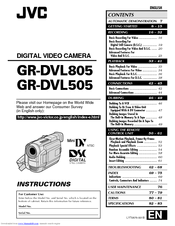 DRIVERS JVC GR-DVL805 CAPTURE