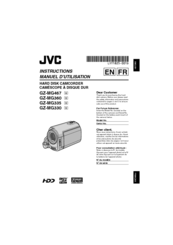 jvc everio gz mg335 manuals rh manualslib com JVC Everio GZ-MG130U Manual JVC Everio Operating Manual
