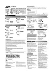 [ZSVE_7041]  Jvc KD-R210 Manuals | ManualsLib | Jvc R210 Wiring Diagram |  | ManualsLib