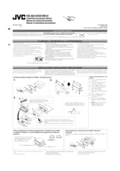 jvc kd a815 manuals rh manualslib com Installation Guide O-Ring Installation Guide