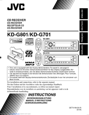 JVC GET0200-001A Instructions Manual