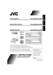 manual radio jvc kd g240 bluetooth speakers rh filestrueoi cf JVC KD R210 User Manual User Manual JVC KD S24