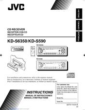 JVC KD-S590 INSTRUCTION MANUAL Pdf Download | ManualsLibManualsLib