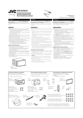 JVC EXAD KW-AVX810 Installation & Connection Manual