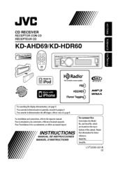 car stereo jvc jvc kd-hdr60 manuals on kenwood speaker wiring diagram, jvc  kd g230 instruction manual