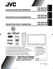jvc kw avx710 dvd player with lcd monitor manuals sg wiring diagram jvc kw avx710 dvd player with lcd monitor instructions manual