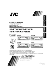 JVC KS-FX473R Instructions Manual