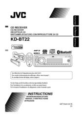 jvc kd bt22 manuals rh manualslib com JVC Car Stereo CD Players Car Stereo ManualDownload JVC Kd-Sr80bt