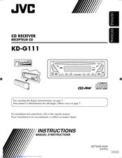 jvc kd g110 wiring diagram jvc kd g111 manuals manualslib  jvc kd g111 manuals manualslib