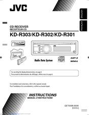 jvc kd r303 manuals rh manualslib com jvc kd-r300 user manual KD -R330 Manual