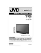 jvc hd70fh96 70 rear projection tv manuals rh manualslib com TV Mitsubishi Projection TV Mitsubishi Projection
