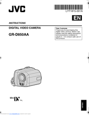 jvc gr d850u manual daily instruction manual guides u2022 rh testingwordpress co JVC Digital Camcorder jvc gr-d850 manual
