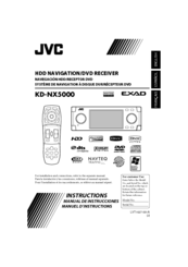JVC EXAD KD-NX5000 Instructions Manual