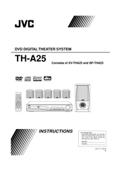 JVC XV-THA25 Instructions Manual