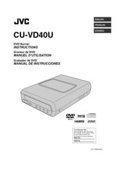 jvc cuvd40 hd everio share station dvd recorder manuals rh manualslib com