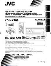 JVC EXAD KD-NX901 Instructions Manual