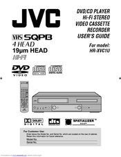 JVC HR-XVC1U User Manual