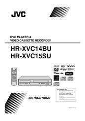 jvc hr xvc15s dvd vcr manuals rh manualslib com Operators Manual Owner's Manual