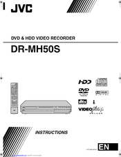 JVC DR-MH50SE Instructions Manual