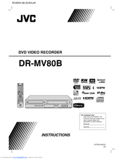 JVC LVT2013-001A Instructions Manual