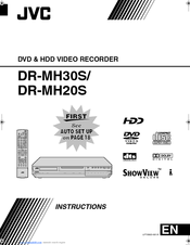 JVC DR-MH20SE Instructions Manual