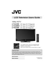 jvc lt 42j300 42 lcd tv manuals rh manualslib com JVC TV Owners Manuals JVC TV Light Engine