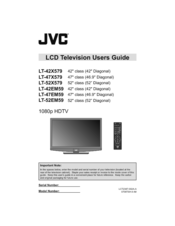 jvc lt 47em59 manuals rh manualslib com JVC Camcorder JVC Car Audio Product