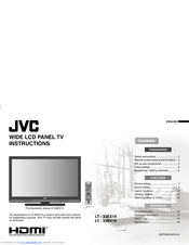 JVC LT-32EX19 Instructions Manual