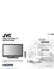 JVC LT-32EX19 Instruction Manual